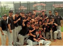 The Varsity Baseball Team won the 2013 Regional and Sectional Championships!