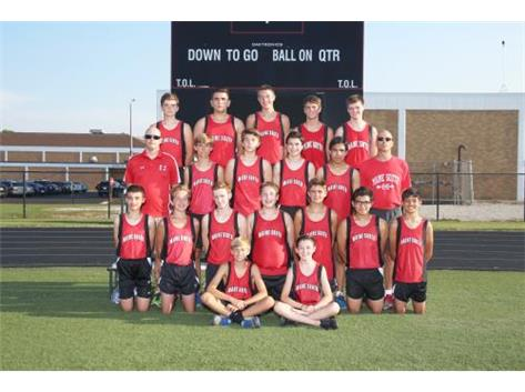 Boys Cross Country Freshmen 2016