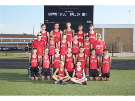 Boys Cross Country Freshmen 2016