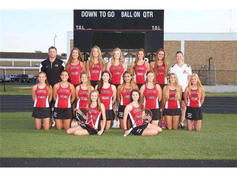 Girls Tennis Varsity 2016
