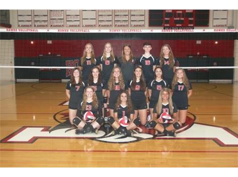 Girls Volleyball Varsity 2016