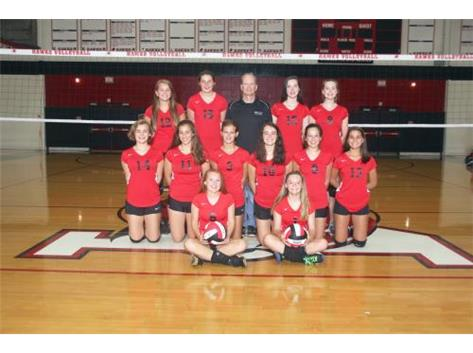 Girls Volleyball Freshmen A 2016