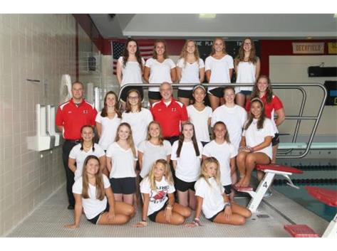 Girls Swimming and Diving Varsity 2016