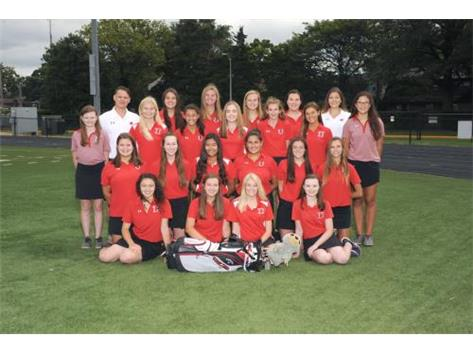 2017 Girls Golf Team
