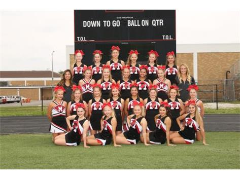 2017 Cheerleading Team