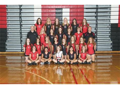 2017 Girls Freshman Volleyball
