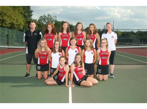2017 Girls JV Tennis