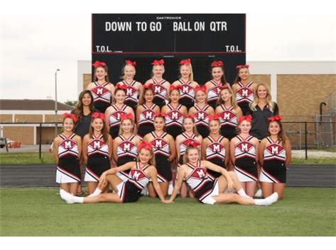 2017 JV Cheerleading