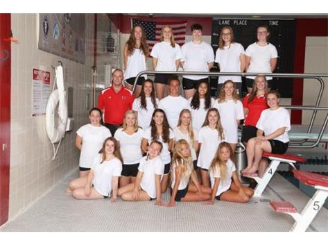 2018 Varsity Girls Swim / Dive