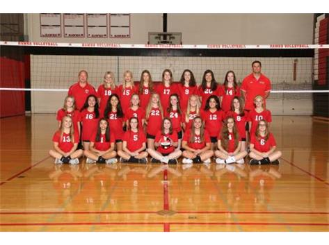 2019 Girls Freshman Volleyball