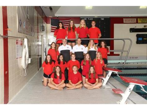 2019 Girls Varsity Swimming and Diving