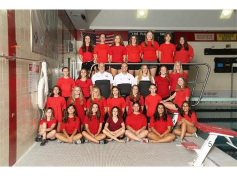 2019 Girls JV Swimming and Diving