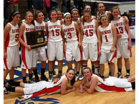 Girls Basketball Wins the IHSA Sectional Title!