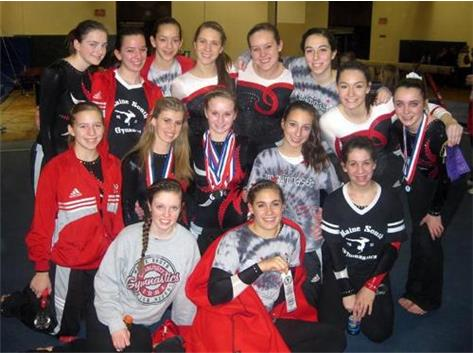 Girls Gymnastics 2011