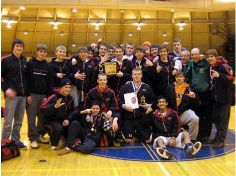 MS WRESTLING WINS 5TH CONSECUTIVE CSL SOUTH TITLE AND 9TH SINCE 2000!