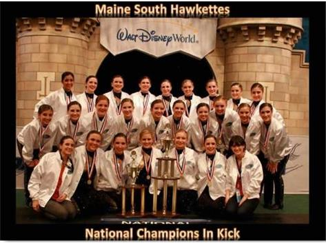 The Hawkettes Won the National Championship in Kick in Orlando, FL