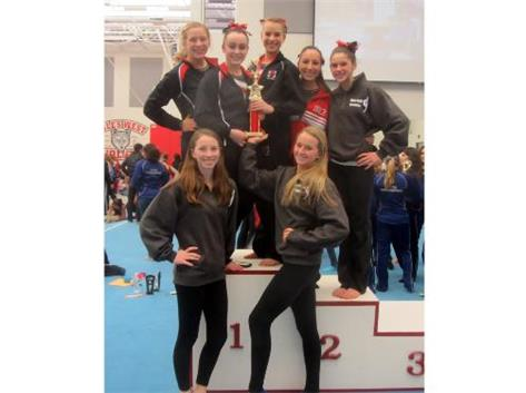 Girls Gymnastics Niles West Invite 2012