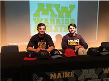 WARRIOR ATHLETES MAKE COMMITMENTS TO COMPETE AT THE COLLEGIATE LEVEL ON THE NATIONAL LETTER OF INTENT DATE.  GO WARRIORS