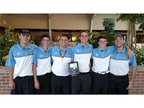 2015 Boys Golf Leyden Invite