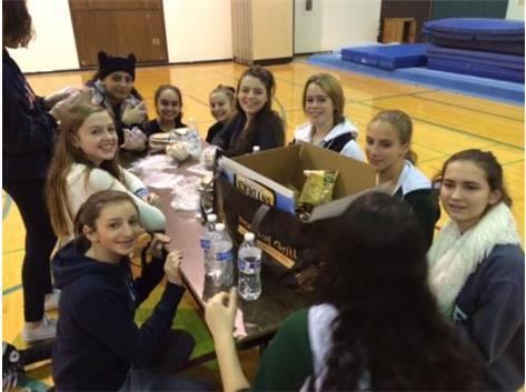 2015 Gymnastics Community Service