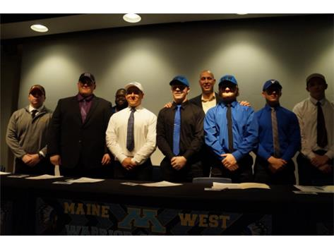 Warriors on Signing Day!