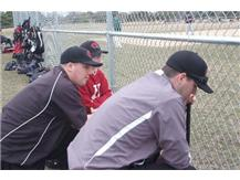 FRESHMAN BASEBALL COACHES MURPHY AND HOGAN