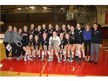 Girls Volleyball Regional Champions 2014
