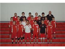 2015 Marist Redhawk Boys Freshman Volleyball Team