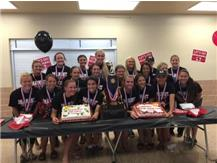 Marist 2015 IHSA State Softball Champions enjoy a Welcome Home Reception at Marist on June 13, 2015