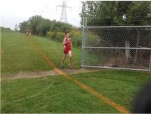 Thomas Leonard on way to First Pace finish at Reavis Frosh/Soph Invite 2016