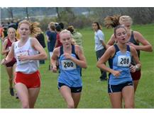Maryclare Leonard competes in Sectional to advance to State Finals