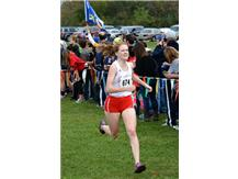 Maryclare Leonard competes at IHSA Sectional en route to 2016State Finals