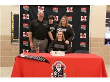 Maddie with parents on NSD