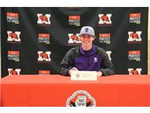 Matt Donahue signs Letter of Intent to play baseball at Roosevelt University on November 9, 2016