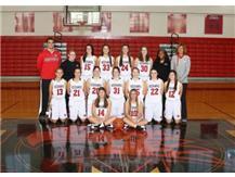 Girls Varsity Basketball Team2016-2017