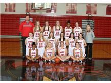 Girls Sophomore Basketball Team 2016-2017