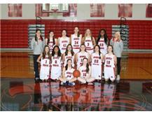Girls Freshman Basketball Team 2016-2017