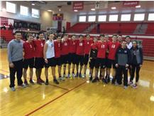 Marist Boys Volleyball RedHawk Invitational Champions March 25, 2017