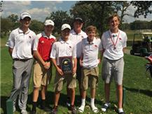 JV Golf wins First Place at Homewood-Flossmoor Invite September 16, 2017