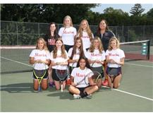 2017 Girls Tennis Team