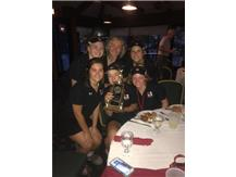 Varsity Golf wins Caroline Griffin Tournament defeating Mother McAuley and St. Ignatius September 21, 2017 at Ridge Country Club