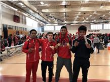 Lincoln Way Central Medalists March 3, 2018