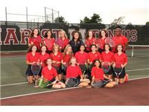 RedHawk Girls Varsity Tennis  2019