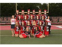 RedHawk Girls Varsity Pom and Dance  2019