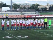 Varsity soccer pregame vs Brother Rice 2019