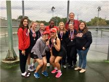 Girls Tennis wins 2nd Place in ESCC Championships