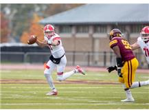 Mikesell on the move RedHawks victory over Loyola October 26, 2019