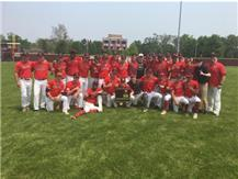 Varsity baseball wins IHSA Class 4A Sectional Championship defeating Providence Catholic 9-5  on June 1, 2019