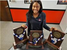 Camryn Hannah led Marist to three straight Class 4A State Appearances, wining titles in 2017 and 2018 and adding 3rd Place in 2019