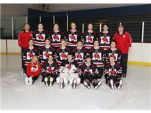 2019-2020 RedHawks Hockey Team